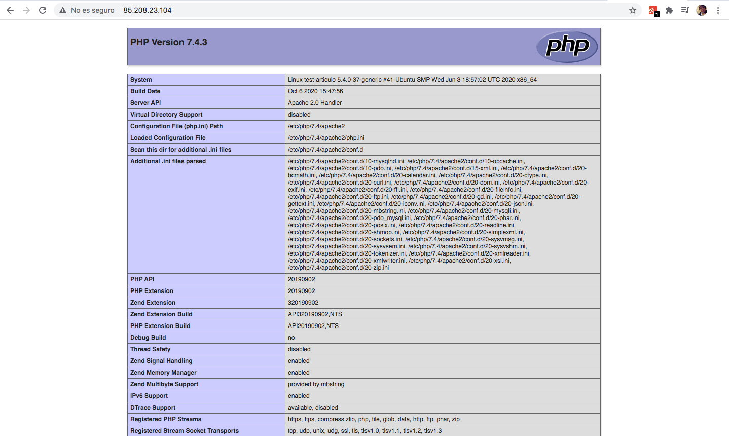 instalar XAMPP en Ubuntu